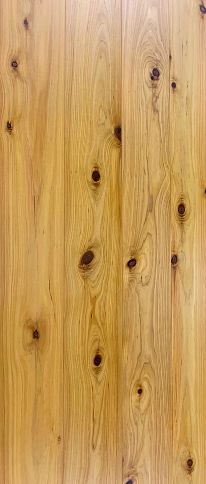 Photo: 5-1/4 inch engineered Australian Cypress flooring. © all rights reserved.